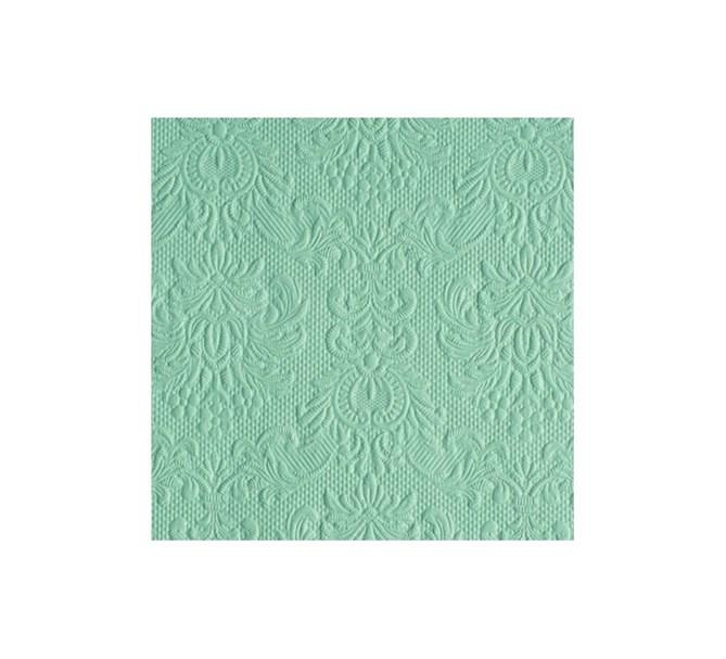 Kaffeservett elegant havsgrön, 15-pack