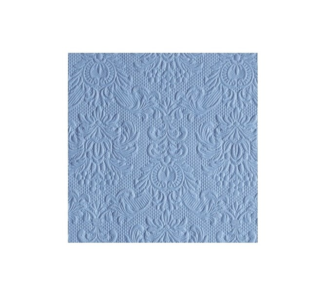 Kaffeservett elegant blå, 15-pack
