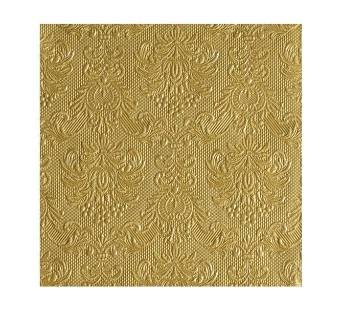 Servett elegant Guld, 15-pack