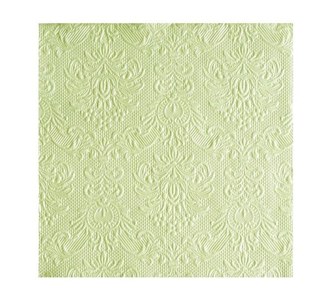 Servett elegant ljusgrön, 15-pack