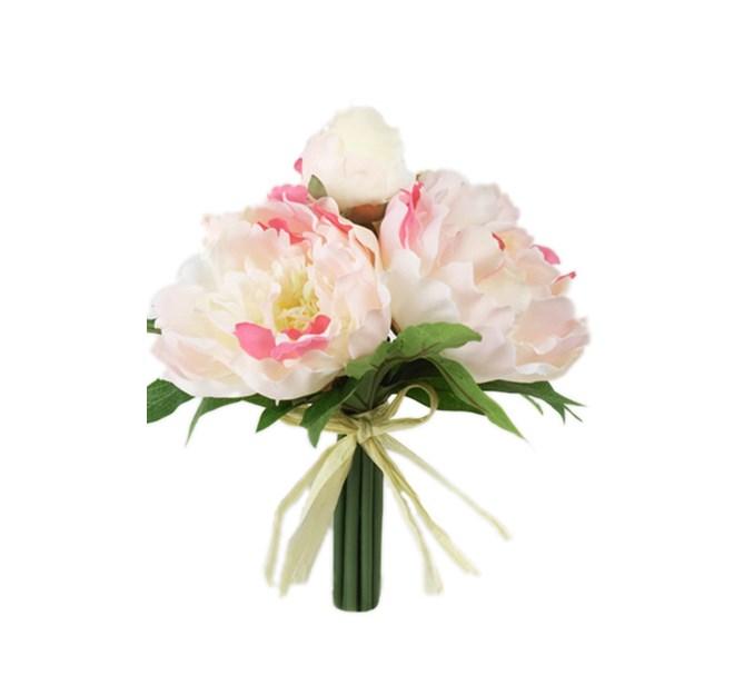 Pionbukett Rosa
