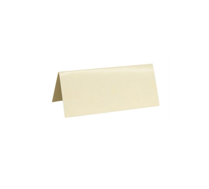 Placeringskort Creme, 10st