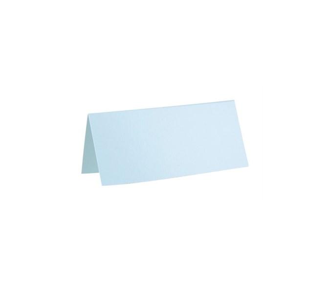 Placeringskort  blå, 10st