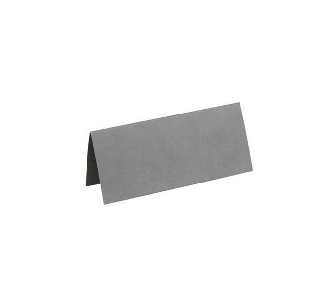 Placeringskort silver, 10st