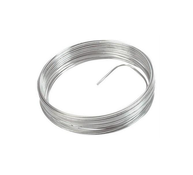 Metalltråd till dekoration Silver, 5 m.