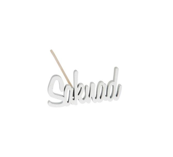 "Gravdekoration ""Saknad"" stick 5 cm"