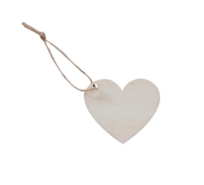 Placeringskort Hjärtformat, 4st