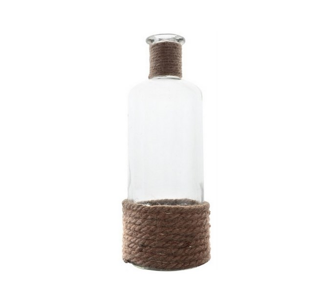 Flaska stor juteband