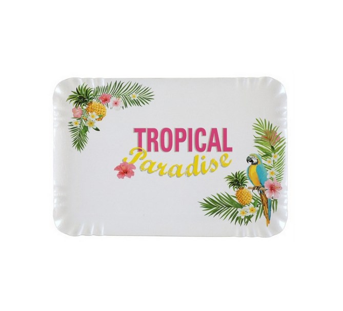 Serveringsfat tropical, 10-pack