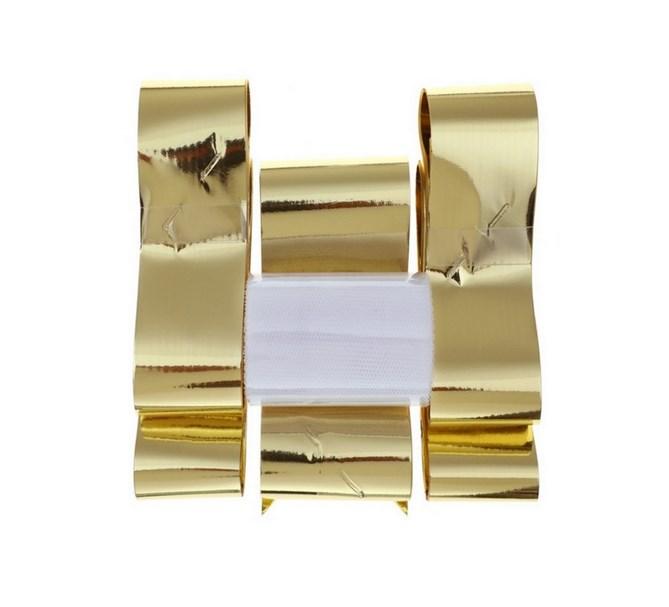 Bildekoration Guld Metallic