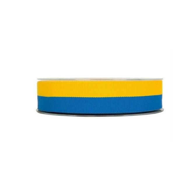 Band gult och blått, metervara