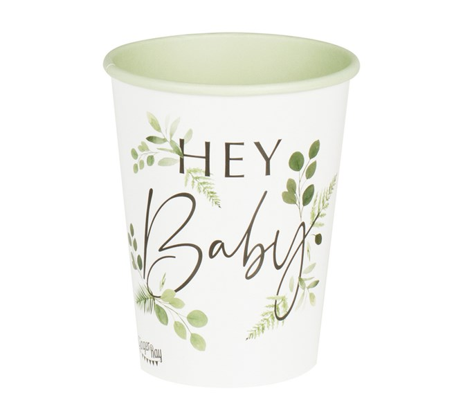 """Pappersmuggar """"Hey Baby"""", 8-pack"""