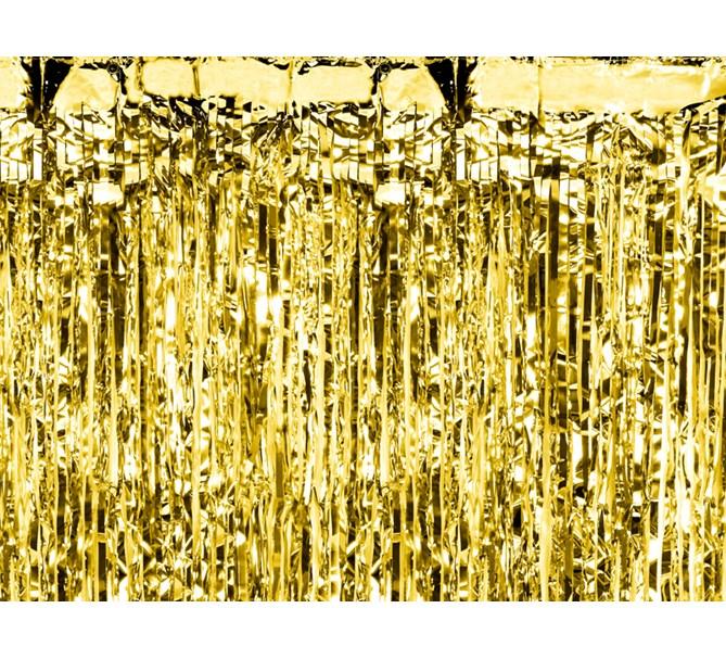 Dörrdraperi Guld