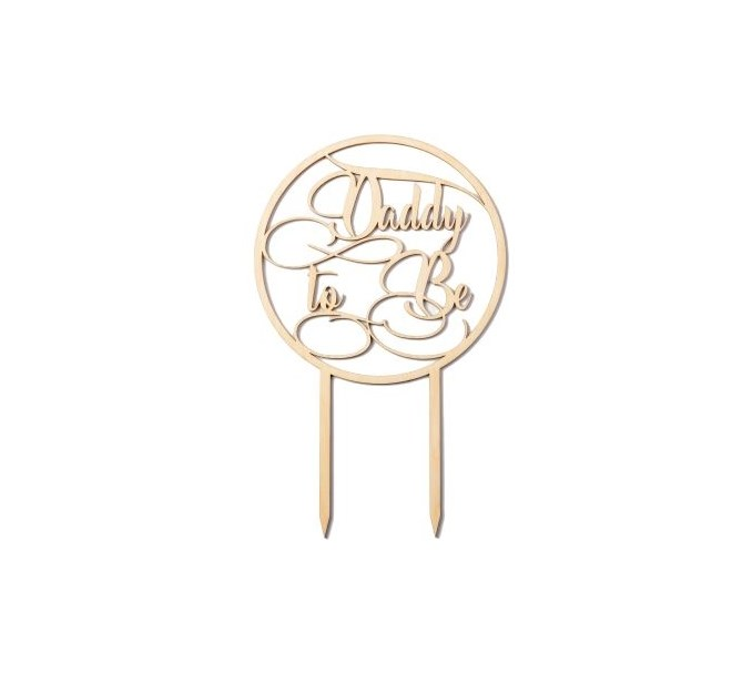 Cake topper Daddy to Be