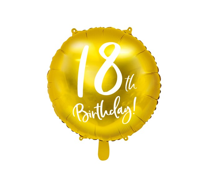 Folieballong 18 år