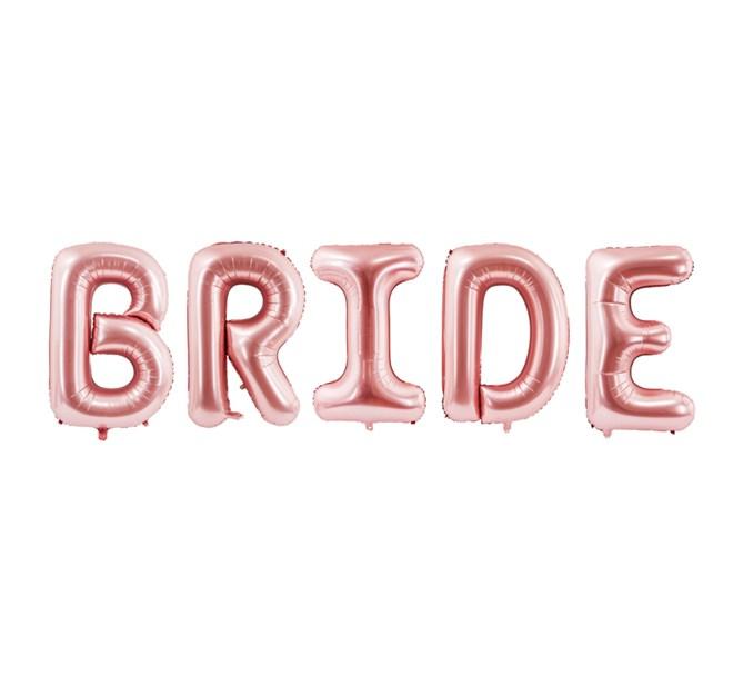 Folieballong BRIDE