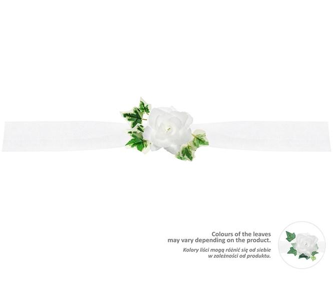 Bildekoration Bröllop Vit/Murgröna