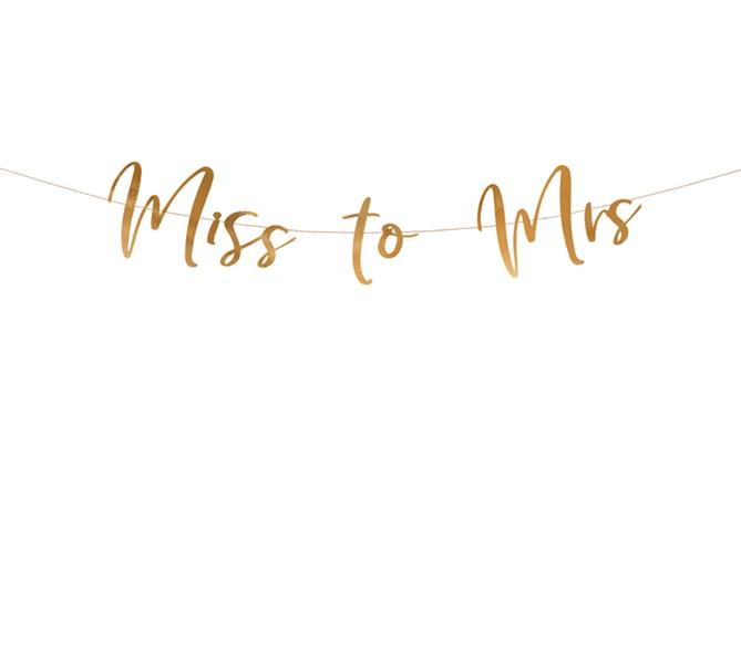 Vimpel Miss to mrs rosé