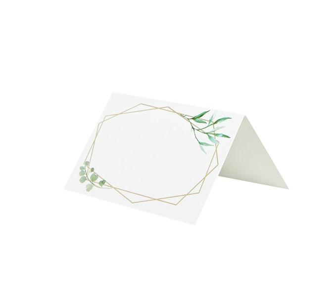 Placeringskort geometriskt, 10-pack