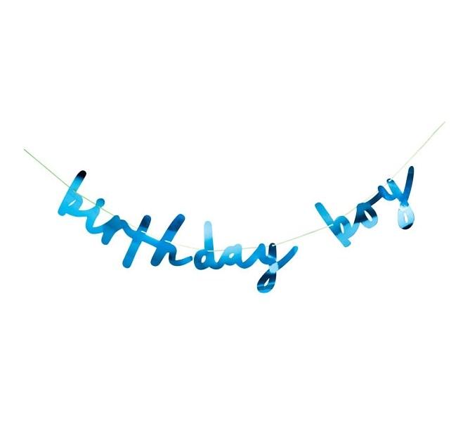 Vimpel Birthday Boy