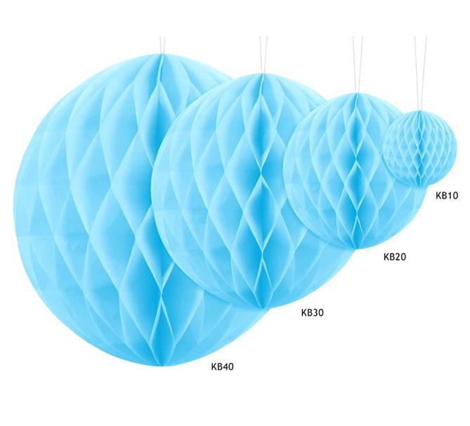 Honeycomb Ljusblå