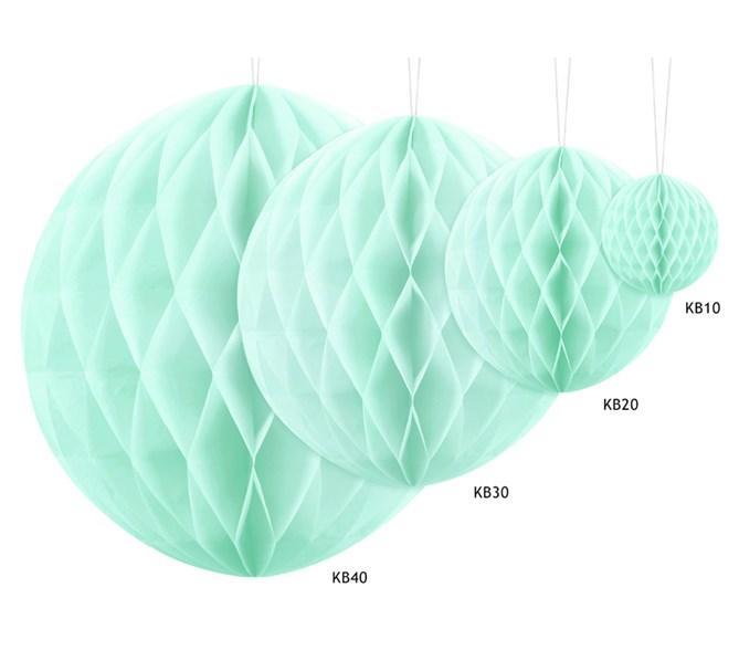 Honeycomb Mintgrön