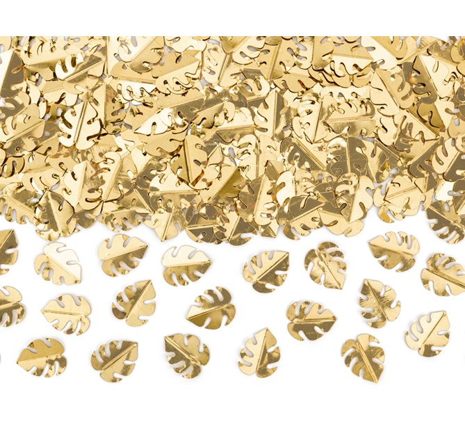 Konfetti Tropical guld