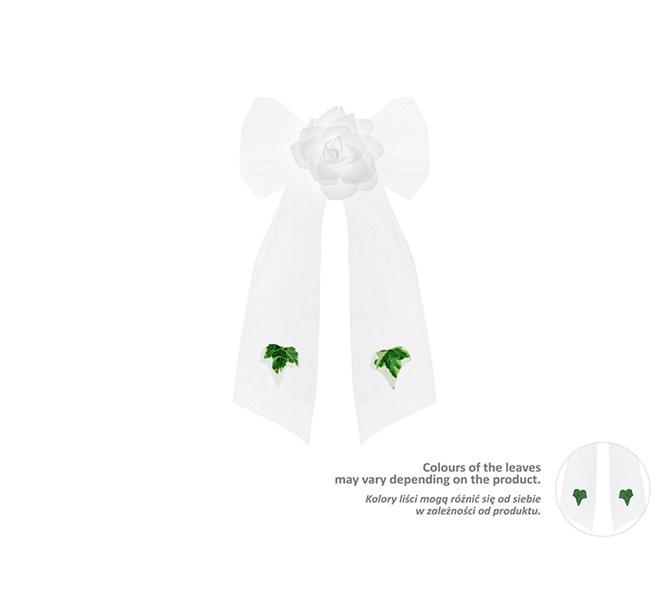 Rosett med blomma 4 st