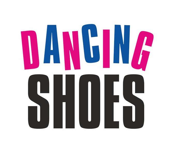 Klistermärke DANCING SHOES