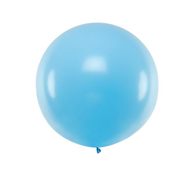 Ballong stor Blå, 1 m.