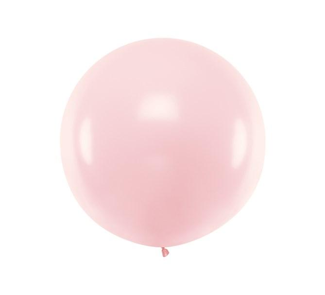Ballong rosa pastell 1 m.