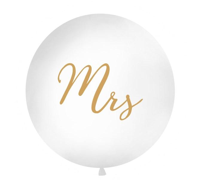 """Ballong """"Mrs"""" Guld, 1 m."""