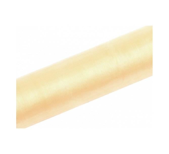 Organzatyg Creme,16 cm och 36 cm