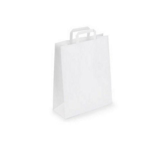 Papperspåse vit, 10-pack