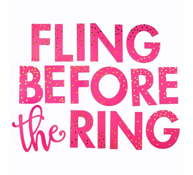 Vimpel Fling before the ring