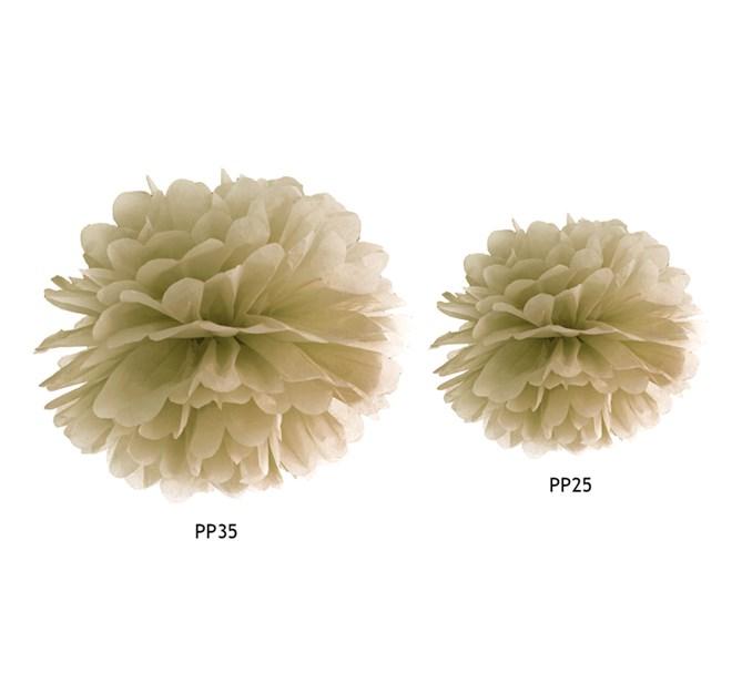 Pompom Guld, 1 st.