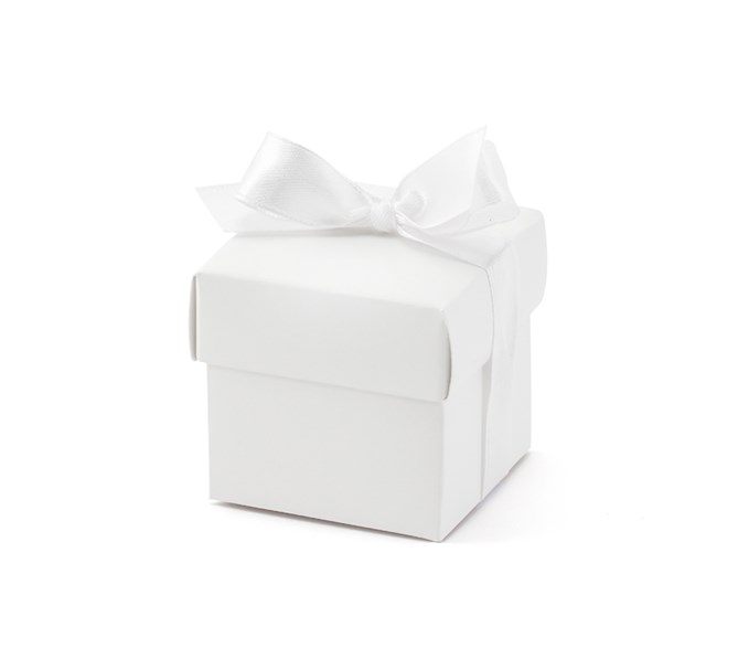 Presentaskar Vita, 10-pack