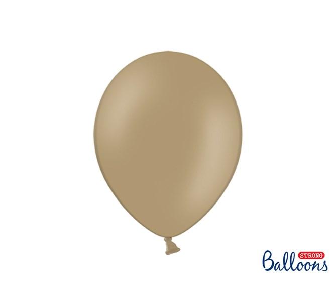 Ballonger pastell ljusbrun, 10-pack
