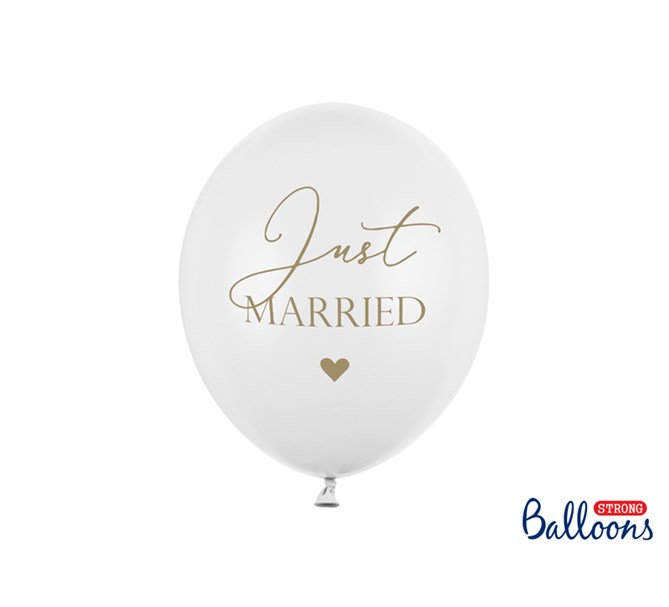 "Ballonger ""Just Married"", 6 st."