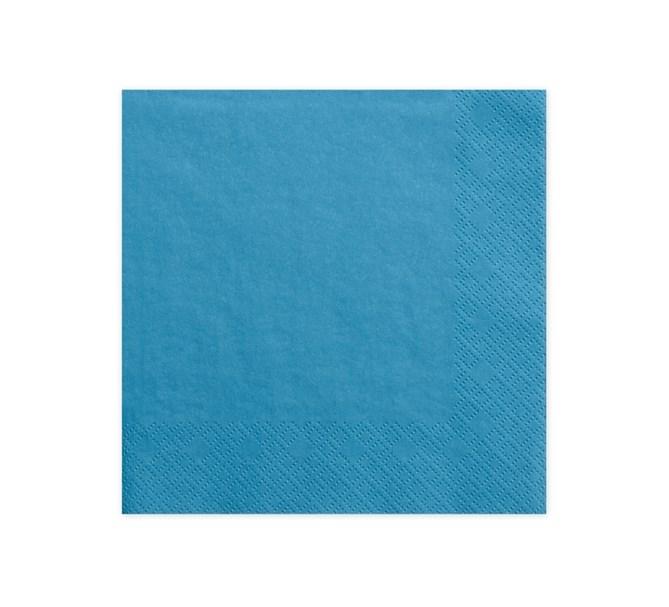 Servetter blå, 20-pack