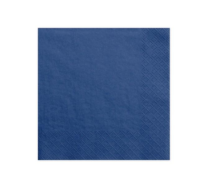 Servetter mörkblå, 20-pack