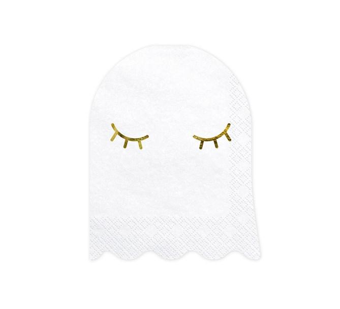 Halloween spöke servetter 20-pack