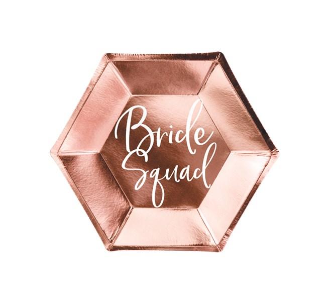 Tallrik Bride Squad, 6-pack