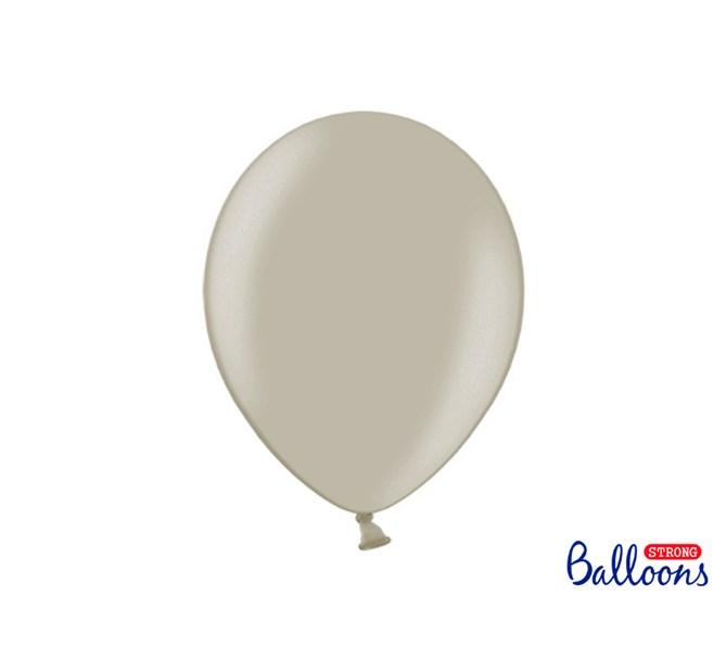 Ballonger pastell Grå, 10-pack