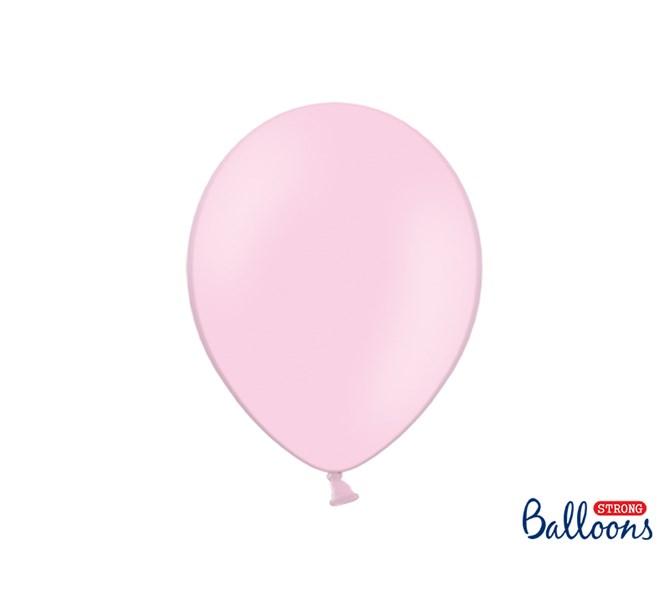Ballonger pastell rosa 10-pack