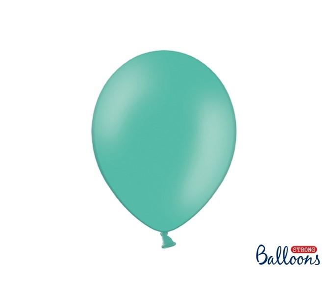 Ballonger pastell ljusgrön, 10-pack