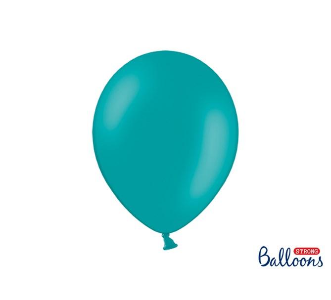 Ballonger Korallgrön pastell, 10-pack