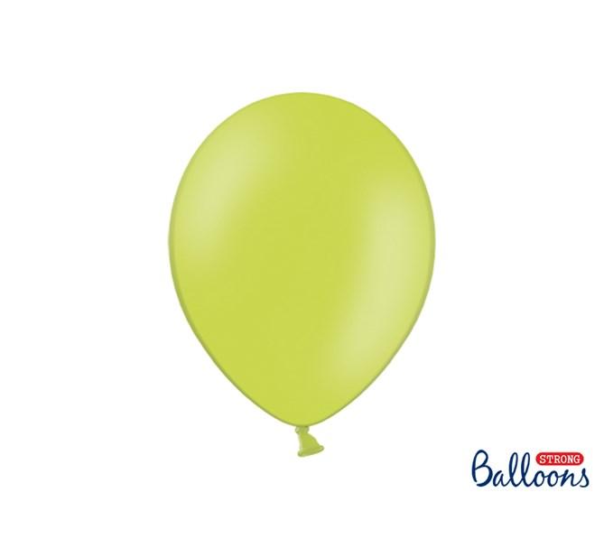 Ballonger pastell Limegrön, 10-pack