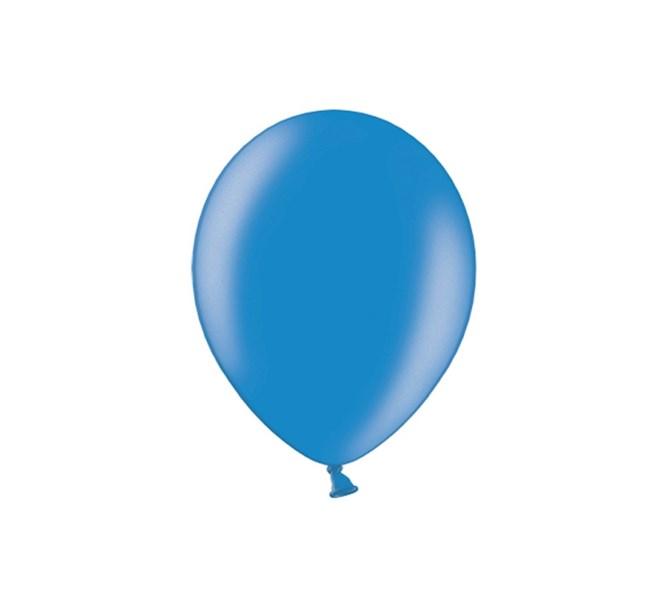 Ballonger Metallic Blå