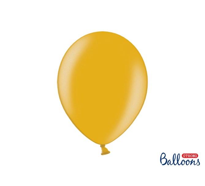 Ballonger Metallic Guld